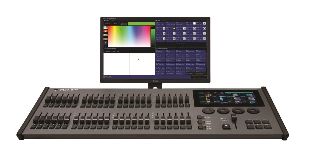 Zero 88 FLX S lighting console at Clearlight Shows