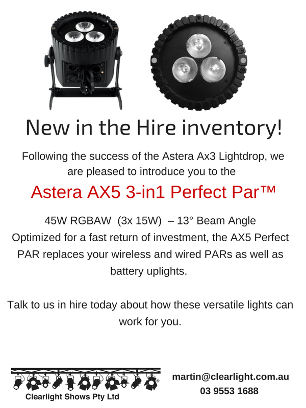 New in the Hire inventory!! _updated AX5